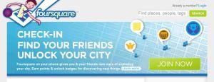Foursquare website