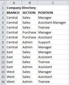 Sample directory 2B