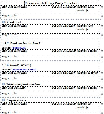 Task List Sample Temptodolistwithdropdowns Jpg Free Task List