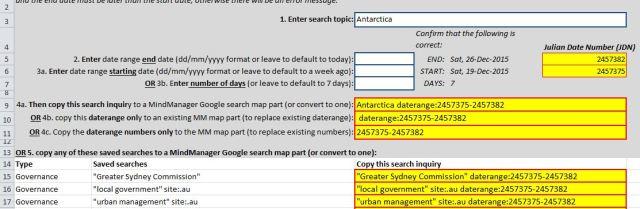 Example of an Excel Julian date converter