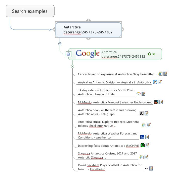 Supercharge web searching within MindManager | Sociamind